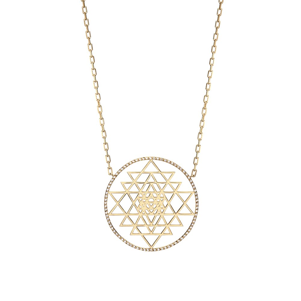 Sparkling Yellow Yantra