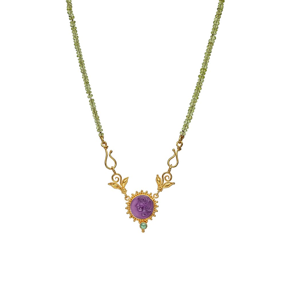 Purple Godess Necklace