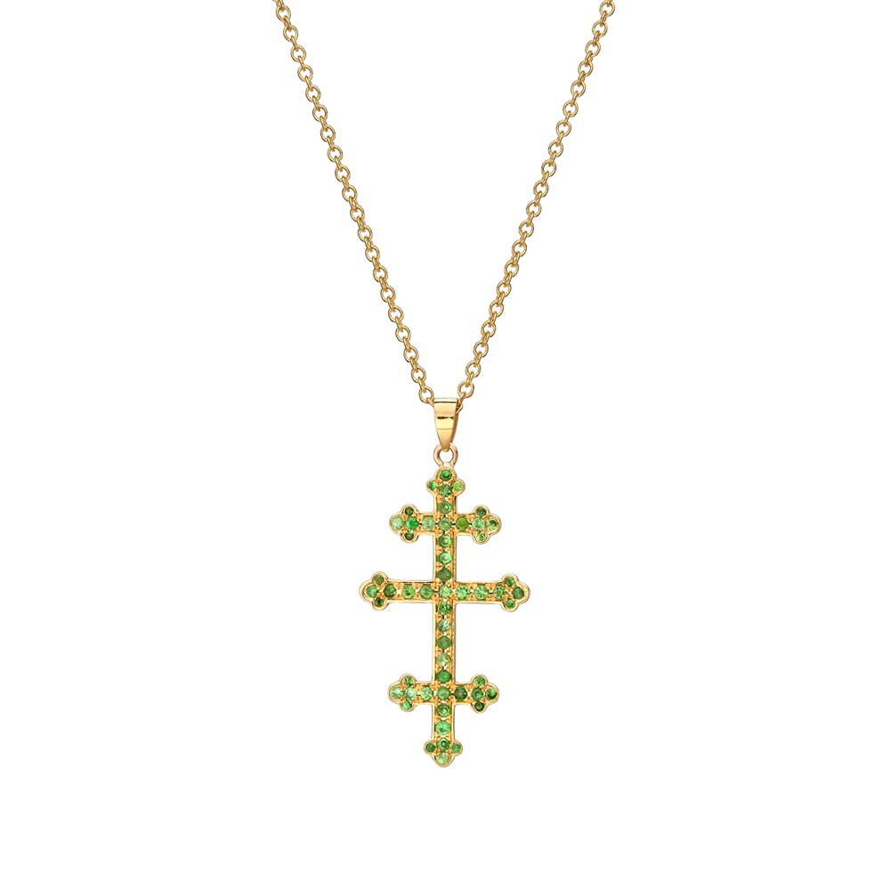 Pope's cross green